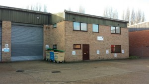 WINDOW COMPANY MOVES INTO INDUSTRIAL PREMISES IN ALDERSHOT HAMPSHIRE